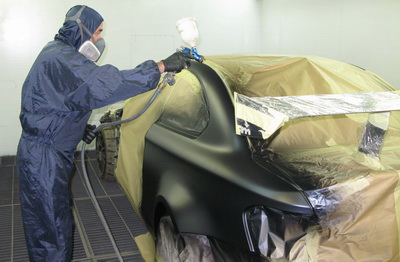 Покраска BMW